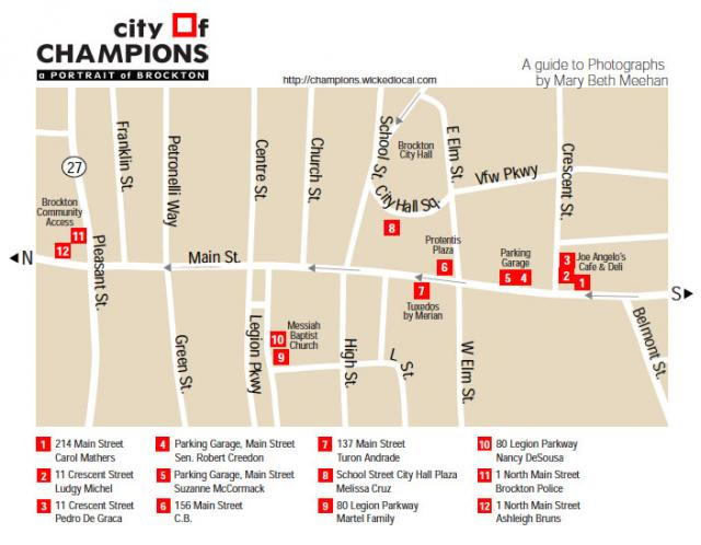 Map of Walking Tour